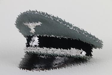 Waffen-SS Generals visor cap
