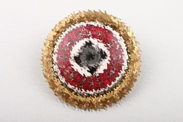 NSDAP Golden Party Badge - A.H. 30.1.1939