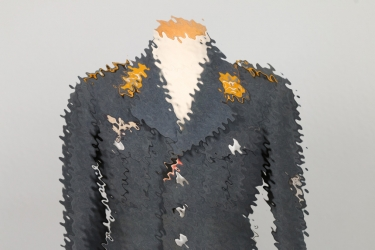 Luftwaffe flying troop tunic to a Obergefreiter