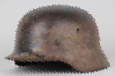 Luftwaffe M35 double decal camo helmet
