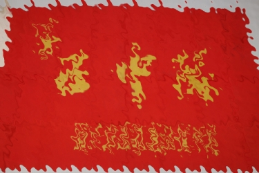1960s Chinese Pionier youth flag