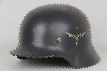 Luftwaffe M35 double decal helmet - SE62