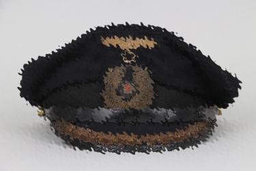 U-105 visor cap to Dr. Friedrich Hauck