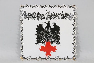 Third Reich DRK Red Cross enamel sign