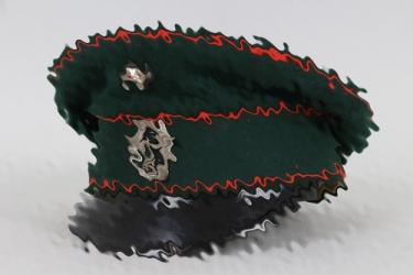 Third Reich Bavarian police visor cap