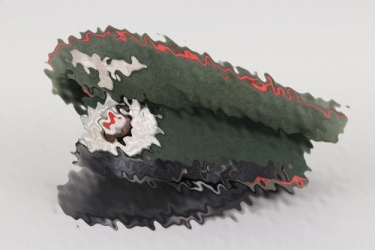 Heer Panzer visor cap - Aufkl.Abt.9