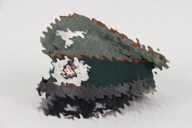Heer Kradschützen visor cap EM/NCO