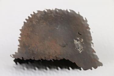 Untouched M42 single decal helmet ET66