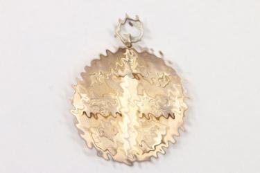 1935 Cannstatt shooting medal 900 silver gilt