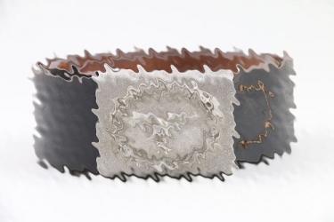 Luftwaffe EM/NCO field buckle & belt - FKO 1938