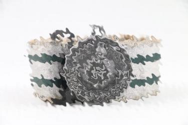 Waffen-SS officers brocade belt & buckle