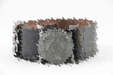 Waffen-SS officers field buckle & leather belt