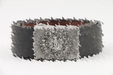 Heer EM/NCO field buckle & belt - Assmann