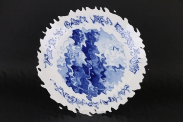 LW-BAU-REGIMENT Holland Meissen plate