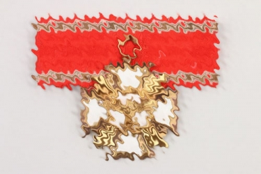 NSDAP Long Service Award in gold - Deumer