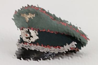 Heer Panzer officer's visor cap
