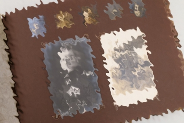 WW1 pilot's photo album with RICHTHOFEN signature