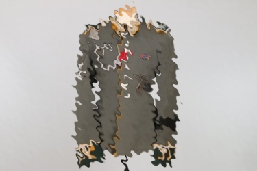 7.Pz.Div. - Kavallerie parade tunic with 2 Tank Destruction Badges