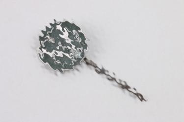 Third Reich German-Hungarian sympathizer pin (green)