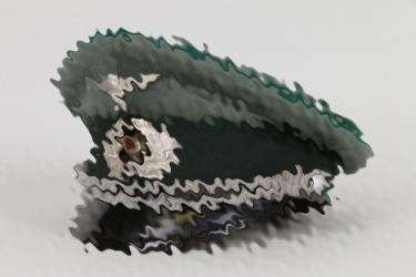 Heer Civil Servant officer's visor cap -  EREL