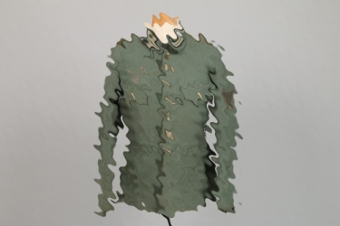 Austrian field tunic with Wehrmacht insignia