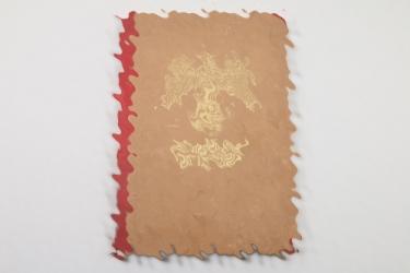 NSDAP Wochenspruch collection in folder