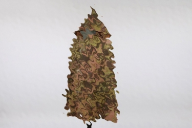 Waffen-SS blurred edge camo poncho
