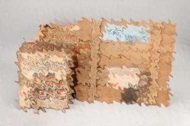 """""""Völkischer Beobachter"""" magazines in box"""