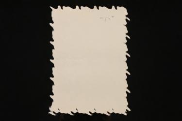 Ernst Schmidt - document signed by Adolf Hitler