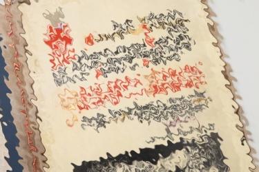 Important Gauleiter Florian parchment document