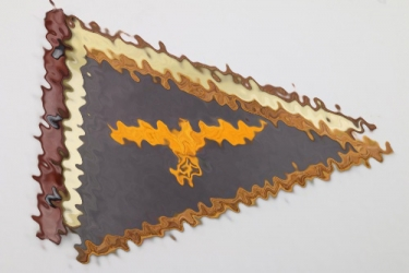 Kriegsmarine General's car pennant with cover