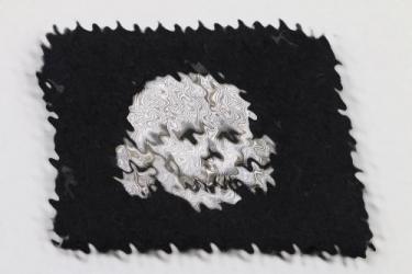 Waffen-SS Totenkopf officer's collar tab