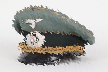 Heer General's visor cap - Kammermeier
