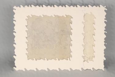 """Yelin the Younger, Rudolf (exhibitor at """"Deutsche Künstler und die SS) - two studies """"Allianz"""""""