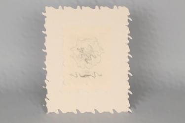 Woyty-Wimmer, Hubert: TH Wien 125th anniversay etching
