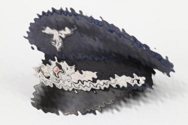 Luftwaffe medical officer's visor cap