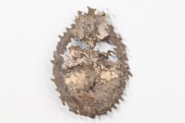 Tank Assault Badge in bronze - tombak