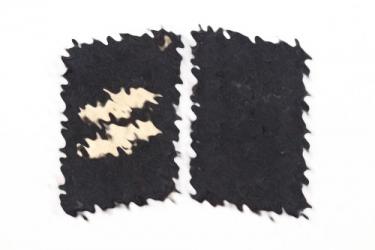 Waffen-SS EM/NCO collar tabs