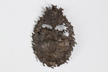 Tank Assault Badge in bronze - hollow
