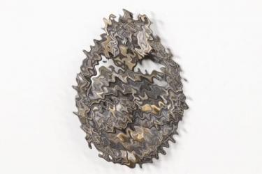 Tank Assault Badge in bronze - Wiedmann