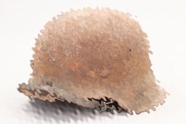 Heer M42 singel decal helmet - barn find