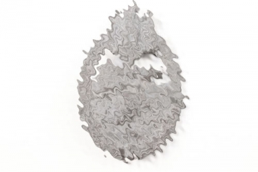 Tank Assault Badge in silver - Wurster