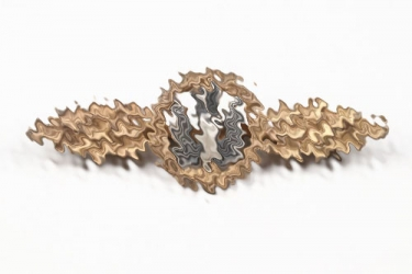Lt. Vögerl - Squadron Clasp for Kampfflieger in gold