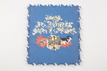 """Third Reich book """"Vom 30. Jänner zum 21. März"""" + gramophone record"""