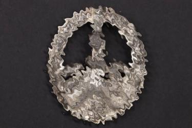 SS-Ogruf.v.d.Bach-Zelewski - Anti Partisan Badge in silver