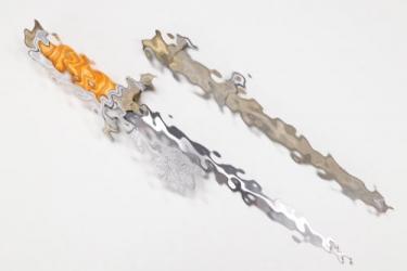 Heer officer's dagger with portepee - Schüttelhöfer