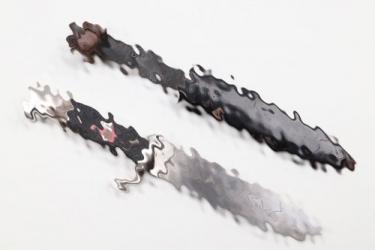 HJ knife + motto - F.W.HÖLLER
