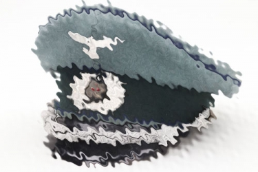Heer medical officer's visor cap