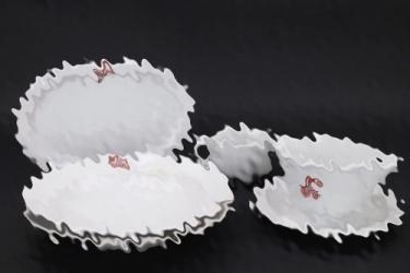 """Third Reich """"DWK"""" lot of porcelain dishes - KPM"""