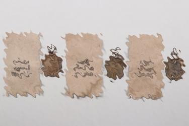 3 x Westwall Medals in POELLATH bag